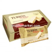 LA IBERICA - NOUGAT ( TURRON ) WITH HONEY BEE AND CHESTNUTS - BOX OF 360 GR